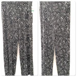 JM Collection Pants Wide-Leg Size Large